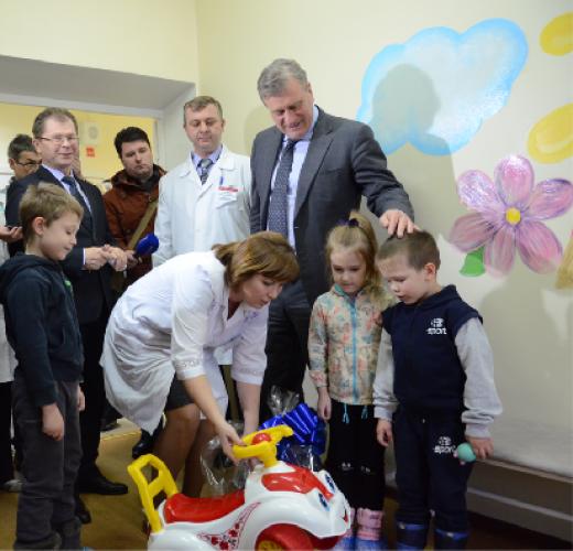 Обновленная поликлиника в Омутнинске
